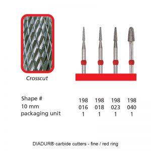 DIADUR® - Red ring micro - Shape 198-0