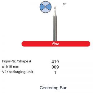 Centering Bur-0
