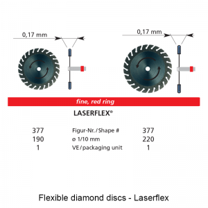 Flexible diamond discs - Laserflex-0