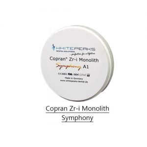 Copran Zr-i monolith System 98 with Step-0
