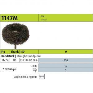Jota 1147M - 250 - HP (Polishers & Brushes) -0