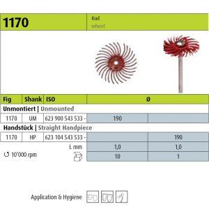 Jota 1170 - 190 (Polishers & Brushes) -0