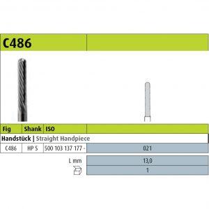 Jota C486 - 021 - HP S (Milling burs) -0