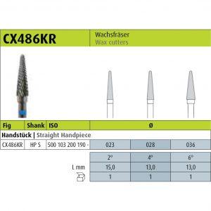 Jota CX486KR - HP S (Milling burs)-0
