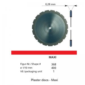 DFS - Plaster Discs - High - 153522-0